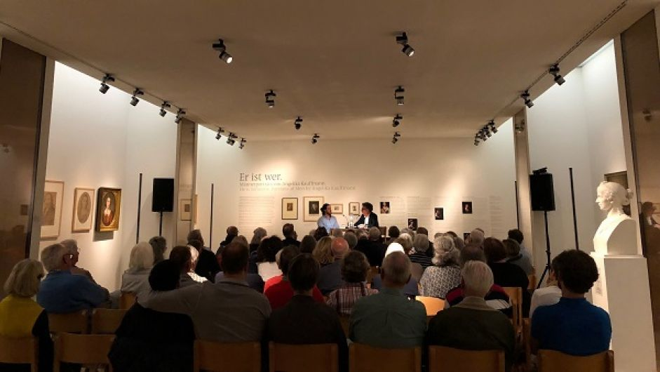 Musiksalon im Angelika Kauffmann Museum