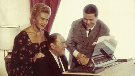 E. Schwarzkopf, G. Moore and D. Fischer-Dieskau