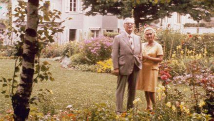 W. Legge und E. Schwarzkopf in Genf