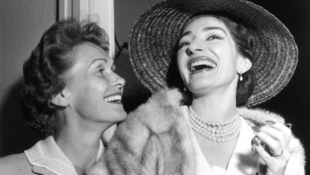E. Schwarzkopf und M. Callas