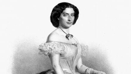 Henriette Sulzer-Biacchi (lithograph by E. Kaiser)