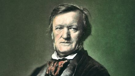 Richard Wagner (copper plate printing after F. Hanfstaengel)