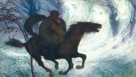 Erlkönig (Postkarte)