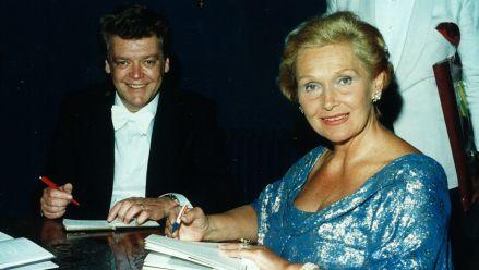 H. Prey and Elisabeth Schwarzkopf in Hohenems