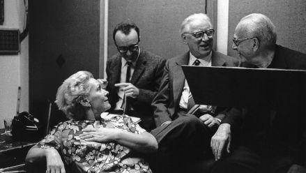 E. Schwarzkopf, A. Brendel, W. Legge und G. Szell