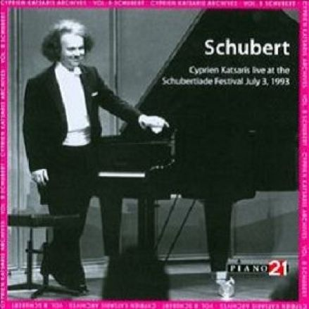 Cyprien Katsaris plays Schubert
