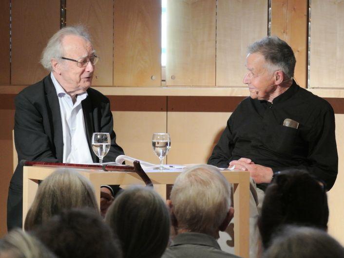 Alfred Brendel und Peter Gülke bei der Schubertiade 2019